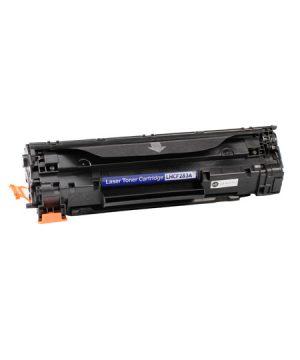 Hp CF283A 83A kompatibilny toner 1500 strán pri 5% pokrytí A4 pre tlačiarne HP LJ PRO MF 120series, M 125 NW, M 125 RNW, M 126 A, M 126 NW,