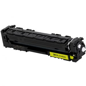 HP CF402X 201X kompatibilný toner 2300strán A4 pri 5% pokrytí HP Color LaserJet Pro M 250 Series, Pro M 252 dw, Pro M 252 n, Pro M 270 Series