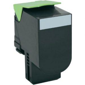 Lexmark 80C2HK0 kompatibilný toner 4000 strán A4 pri 5% pokrytí Lexmark CX410E, CX410DE, CX410DTE, CX510DE, CX510DTHE, CX510DHE