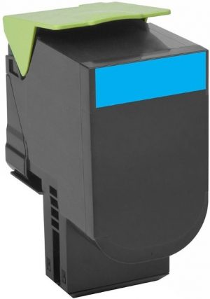 Lexmark 80C2SC0 kompatibilný toner 2000strán A4 pri 5% pokrytí Lexmark CX310N, CX310DN, CX410E, CX410DE, CX410DTE, CX510DE, CX510DTHE, CX510DHE