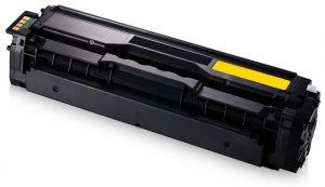 Samsung CLT Y504S yellow kompatibilný toner 1800strán A4 pri 5% pokrytí Samsung CLP-410 Series, CLP-415N, CLP-415NW, CLX-4100 Series, CLX-4195FN, CLX-4195FW