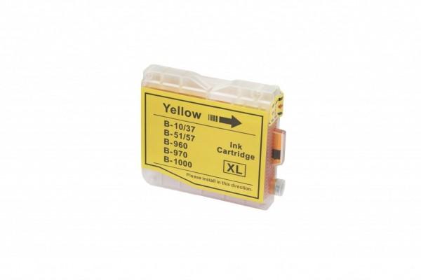 Brother LC10Y/LC 37/LC51/LC 57/LC1000/LC960/LC970 Yellow, 36ml kompatibilná atramentová náplň Brother DCP-130C, DCP-135C, DCP-150C, DCP-157C, DCP-330C