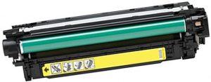 HP CE252A 504A Yellow ,7000 strán kompatibilný toner HP Color LaserJet CP3525, HP Color LaserJet CM3530, HP Color LaserJet CP3525DN